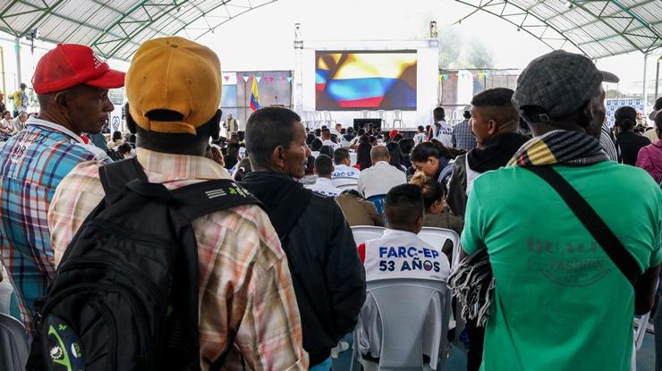 Farc hace entrega de información humanitaria sobre personas dadas por desaparecidas en el marco del conflicto - Dejacion-armas-La-Elvira-FARC3