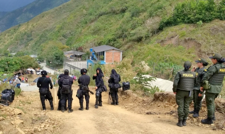 Sabanalarga, Antioquia Campesinos heridos por desalojo en Hidroituango - PresenciadESMAD