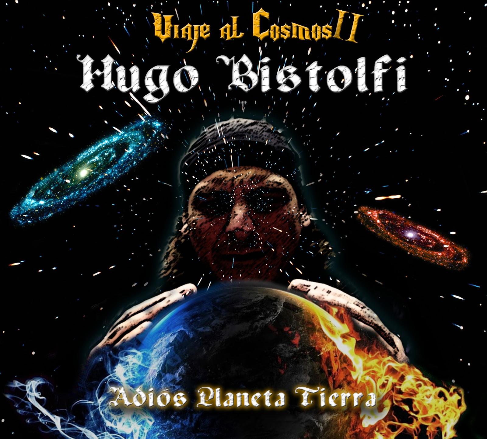 HUGO BISTOLFI NUEVO ÁLBUM VIAJE AL COSMOS II y ARTE DE TAPA - hugo-1