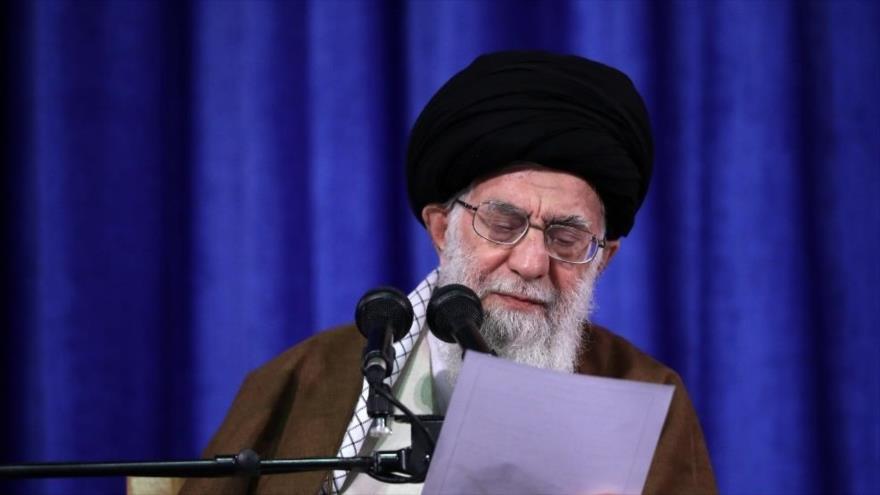 El Líder de Irán denuncia las mentiras de Trump contra Teherán - iran1