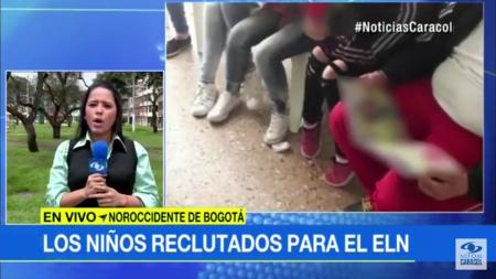 """Desmienten acusación de Fiscalía sobre """"reclutamiento de menores"""" en Bogotá - tele_1_"""