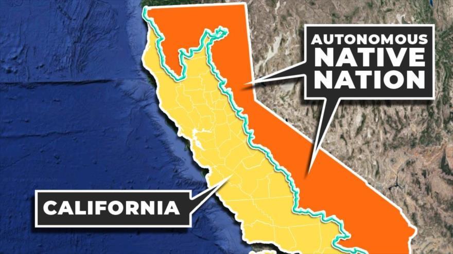 De separarse de EEUU, mitad de California sería un estado nativo - 14155204_xl