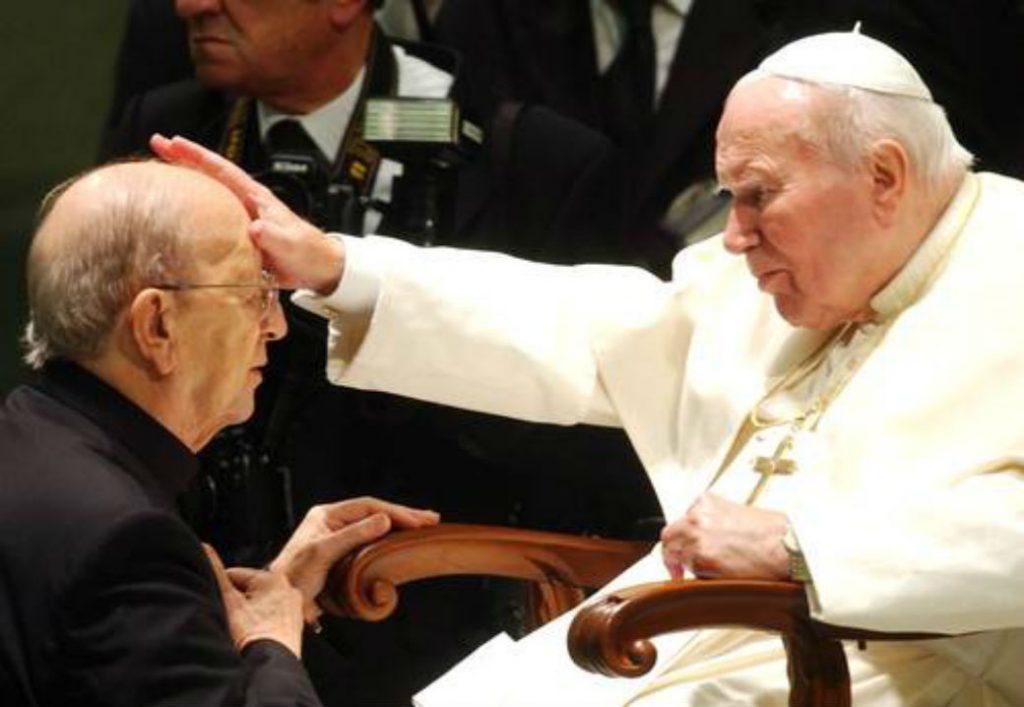 El santo cartel de los curas pedófilos. Vaticano Connection - Juan-Pablo-II-y-Marcial-Maciel-1024x707