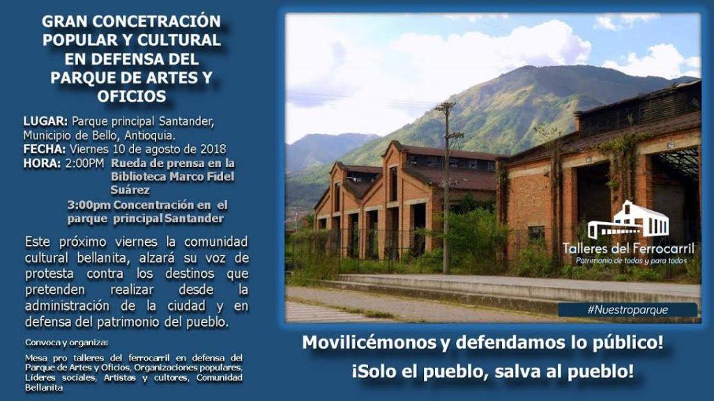 COMUNIDAD BELLANITA   DEFENDERÁ CON CULTURA EL PARQUE DE ARTE Y OFICIOS - unnamed-1-1024x576