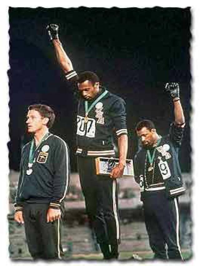 La derrota del Black Power 1968-2018 - BLACK-POWER.-Protesta-juegos-olímpicos-de-México-1968