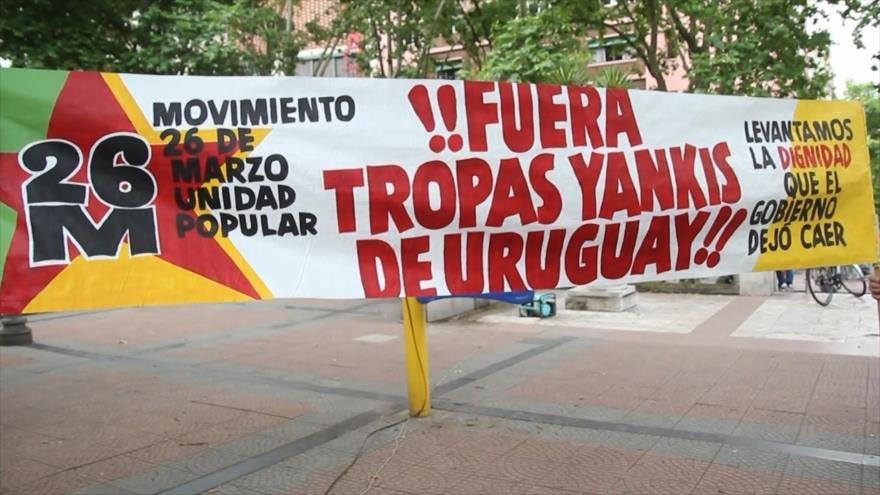 Rechazo de ingreso de tropas de EEUU en Uruguay por la cumbre G20 - 09573569_xl