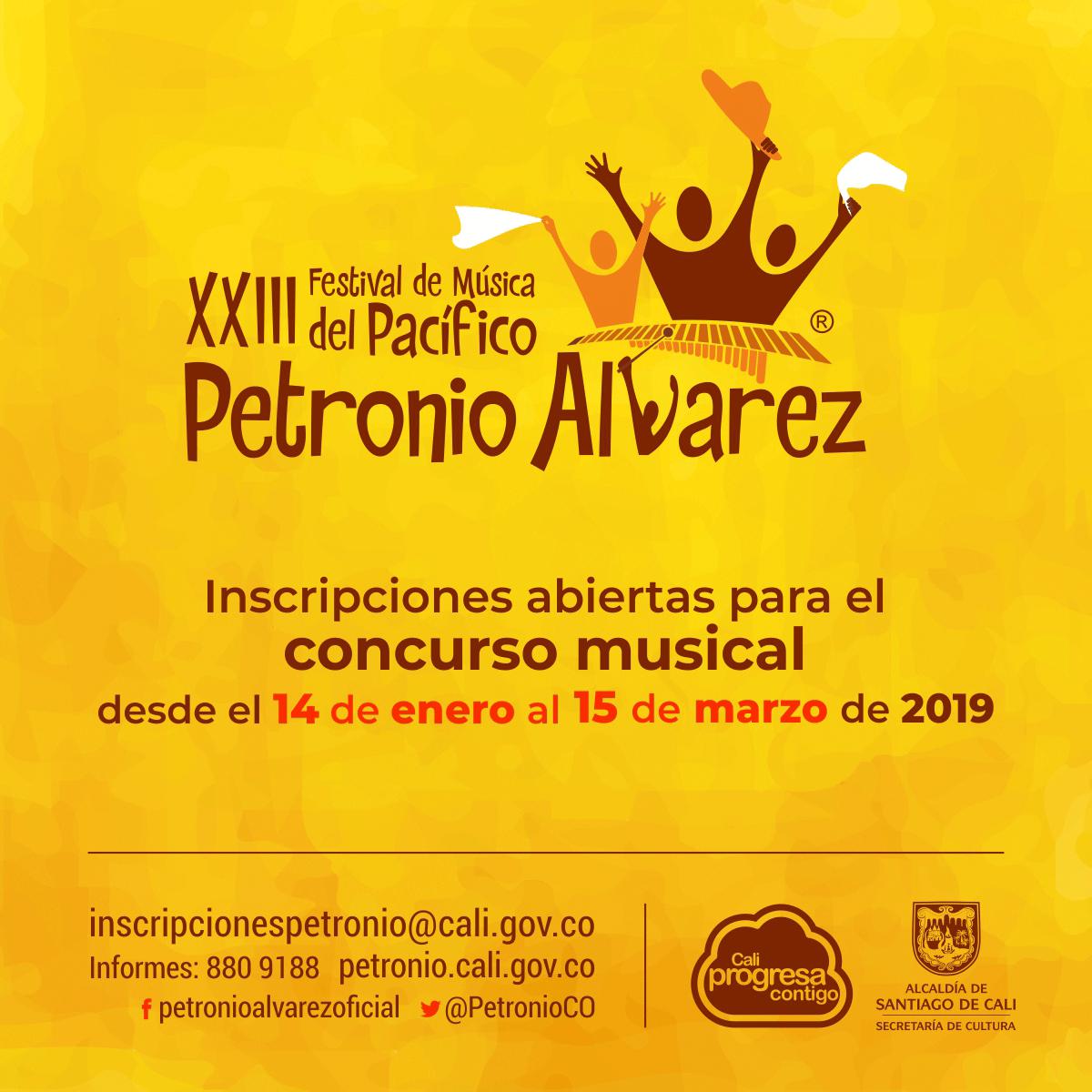 El Festival Petronio Álvarez facilita la ficha de inscripción - 7