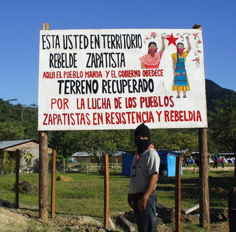 El EZLN celebra los 25 años del levantamiento armado declarando la guerra al olvido - Campamento-zapatista-de-Guadalupe-Tepeyac.-Foto-Carlos-de-Urabá
