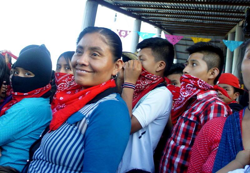 El EZLN celebra los 25 años del levantamiento armado declarando la guerra al olvido - Zapatistas-en-la-Realidad-Selva-Lacandona.-Foto-Carlos-de-Urabá.