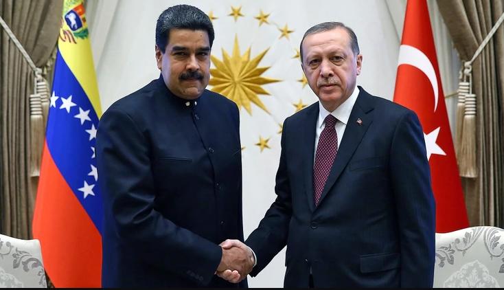 Erdogan ratifica su apoyo al nuevo mandato de Maduro en Venezuela - mye