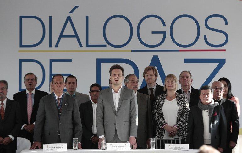 Movimiento colombiano respalda postura de Cuba como garante de la paz - paz