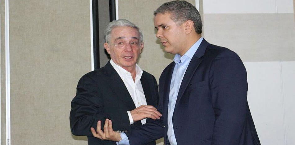 Plan de Subdesarrollo: un atentado al derecho a la paz - lvaro-Uribe-e-Iván-Duque