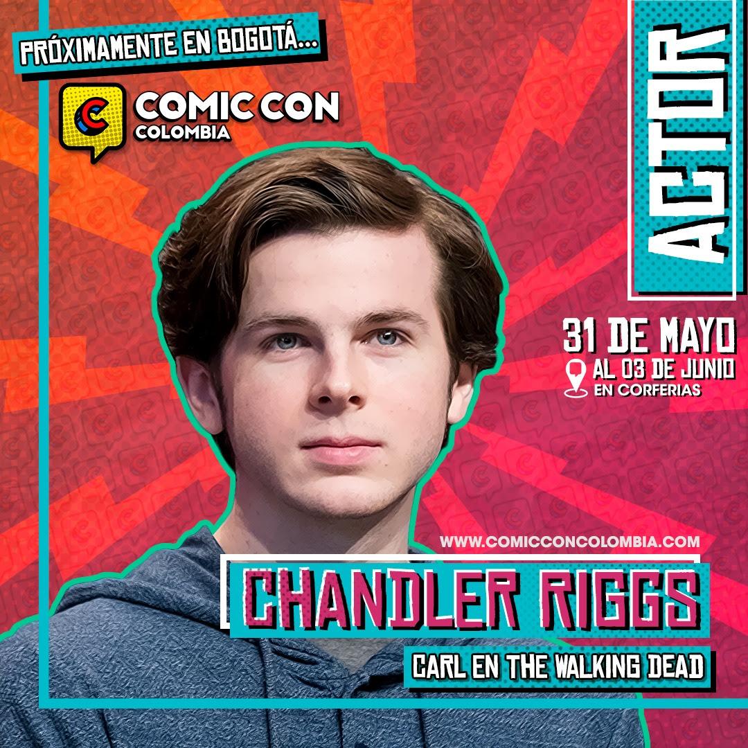 """Carl Grimes, personaje de""""The Walking Dead"""" llegará a Bogotá para la Comic Con Colombia 2019 - 4-6"""
