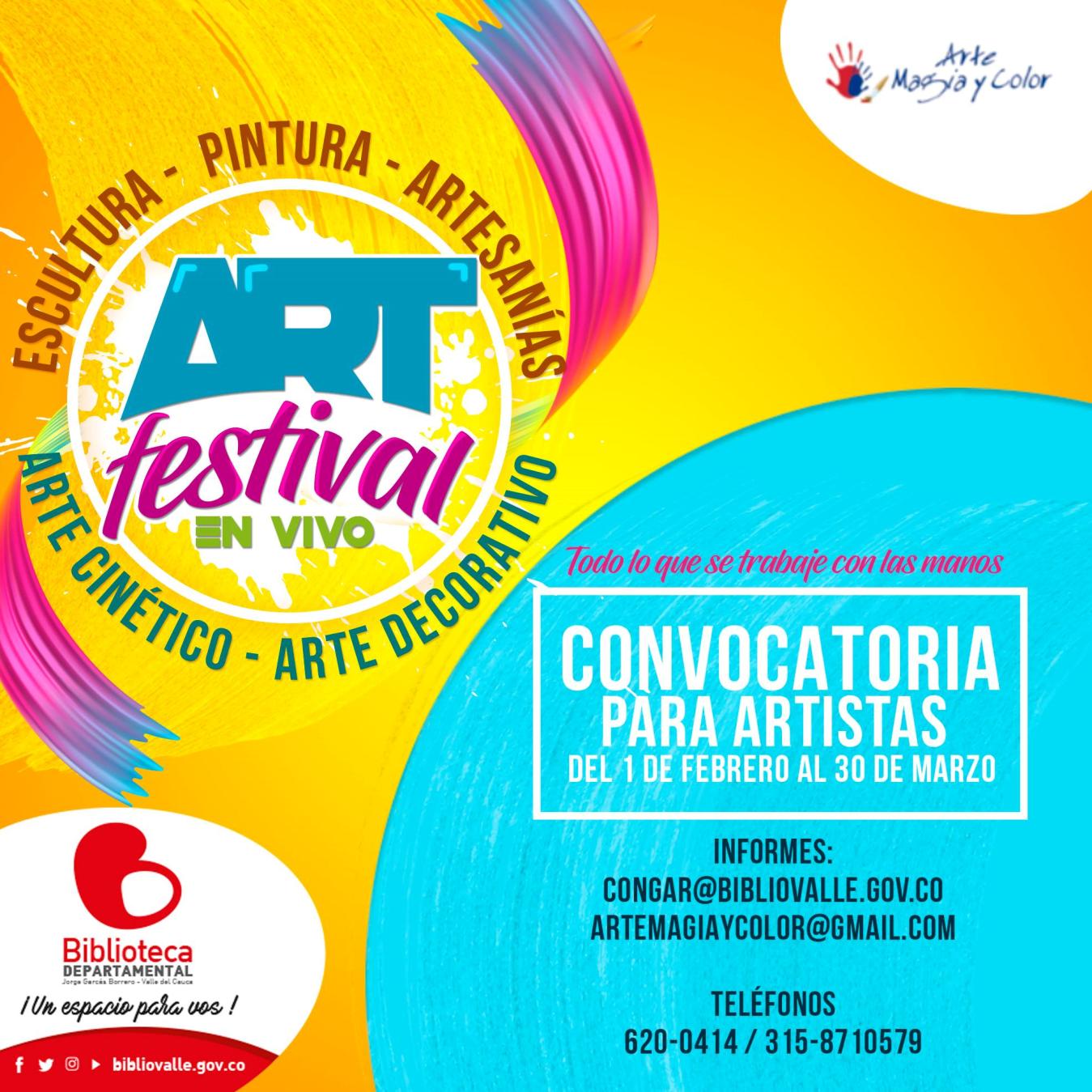 ART FESTIVAL EN VIVO - 8-1