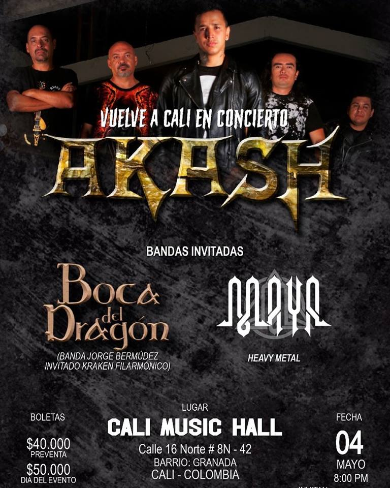 AKASH 26 AÑOS DE HEAVY METAL - akash-3
