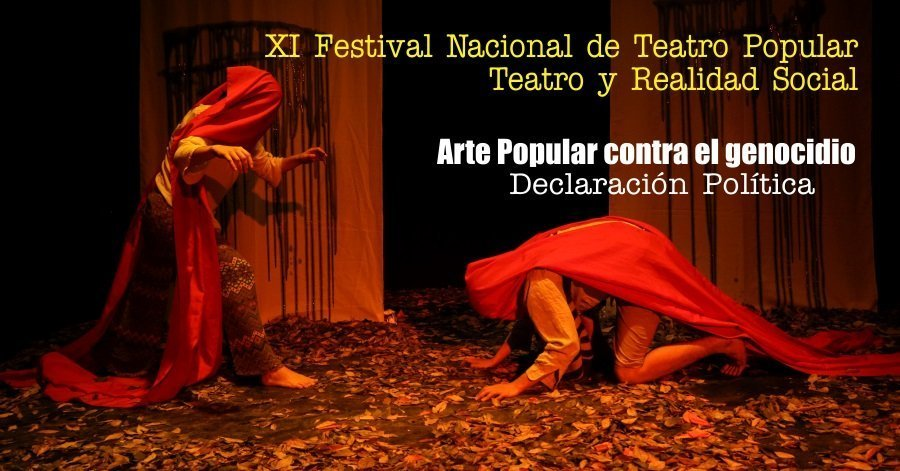 Arte Popular contra el genocidio - Arte-Popular-contra-el-genecidio-Festival-Teatro