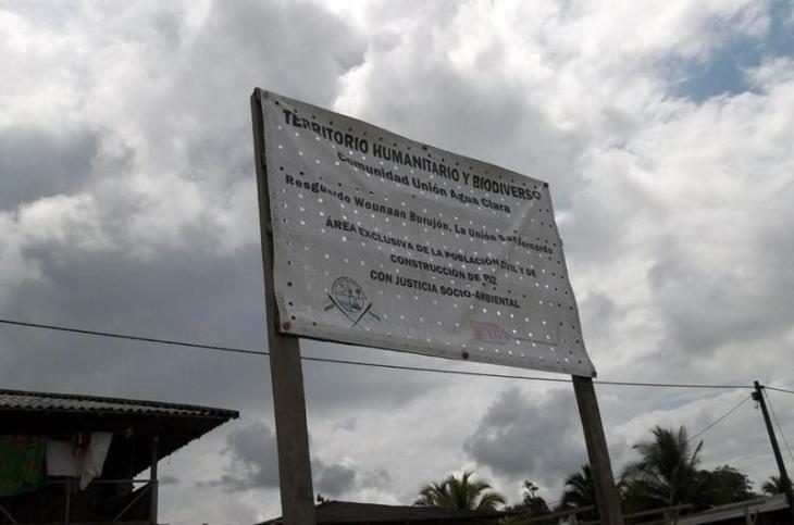 Intimidación paramilitar a comunidad Nonam de Puerto Pizario - agua-clara2-1