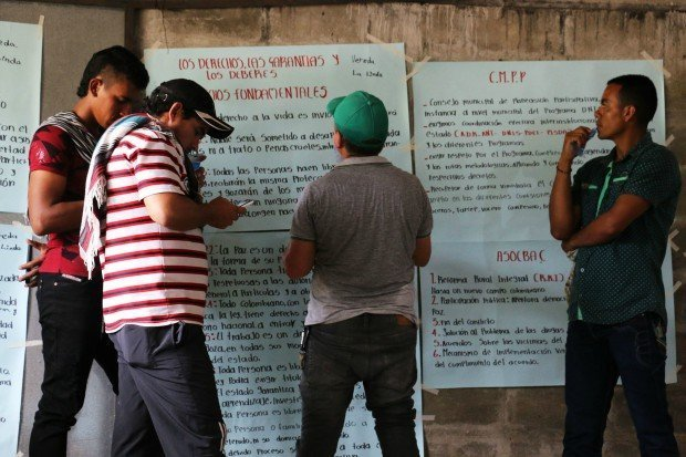 Antioquia: Campesinos de Tarazá, sin garantías en sus territorios - asambleaelprimerodemayoentaraza_