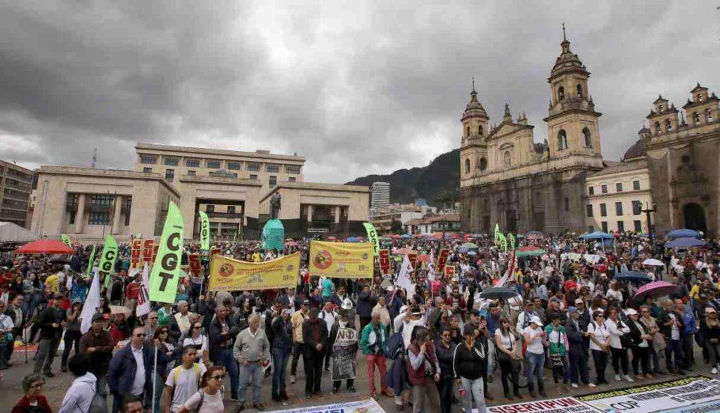 Colombia sigue siendo el país más letal para los trabajadores y sindicalistas con 34 asesinatos en 2018 - 5cc258af76387-1024x588