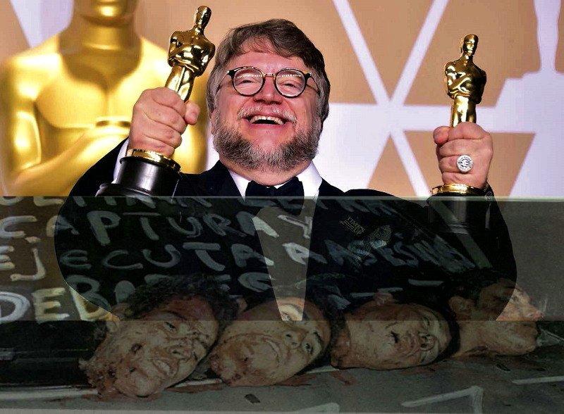 Apología del morbo y el sadismo en la casa de los monstruos de Guillermo del Toro - Guillermo-del-Toro-recibe-los-Oscar.