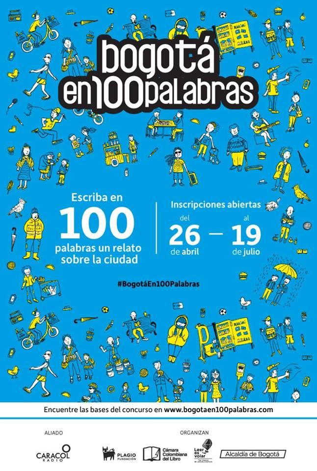 Bogotá en 100 palabras' llega a su tercera edición - bogota-100-en