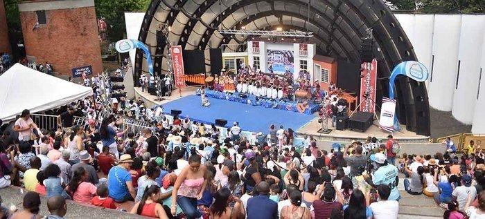 La fiesta patria en el Concierto de Independencia en el Teatro al aire libre Los Cristales - 15-6