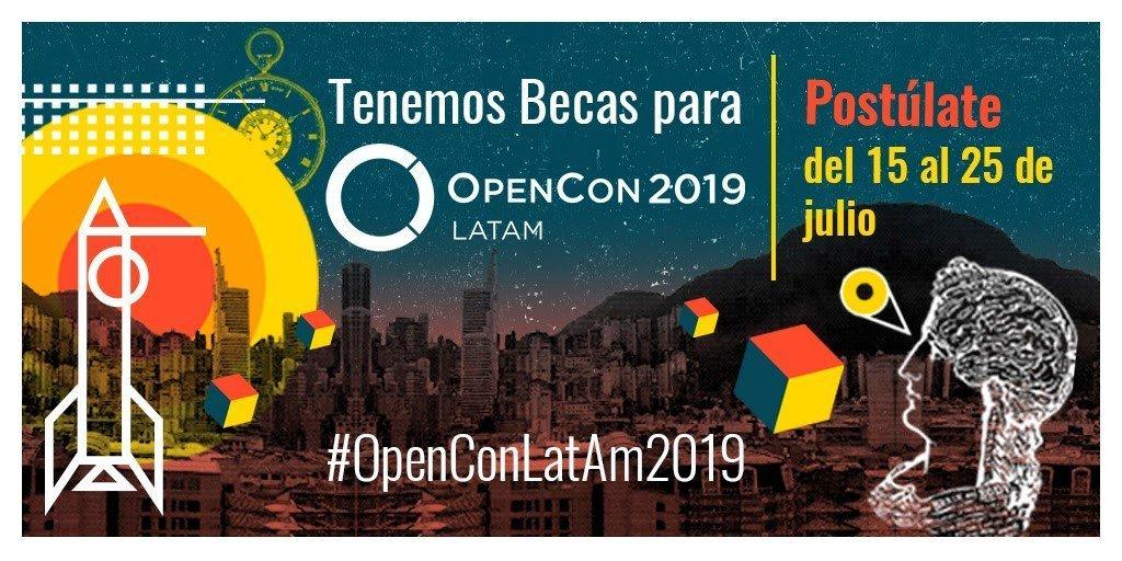 ¡Participa por becas de viaje para asistir a OpenCon LatAm Colombia 2019! - 17-1