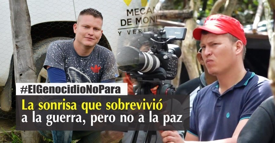 La sonrisa rebelde de las FARC - Anderson-Perez-David-Marin