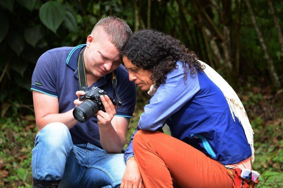 La sonrisa rebelde de las FARC - Anderson-Perez-FARC