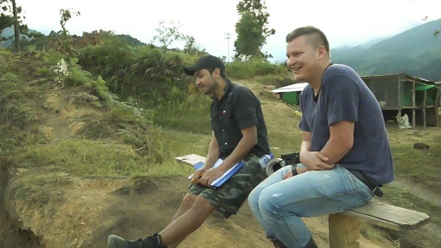 La sonrisa rebelde de las FARC - Asesinado-Anderson-Perez