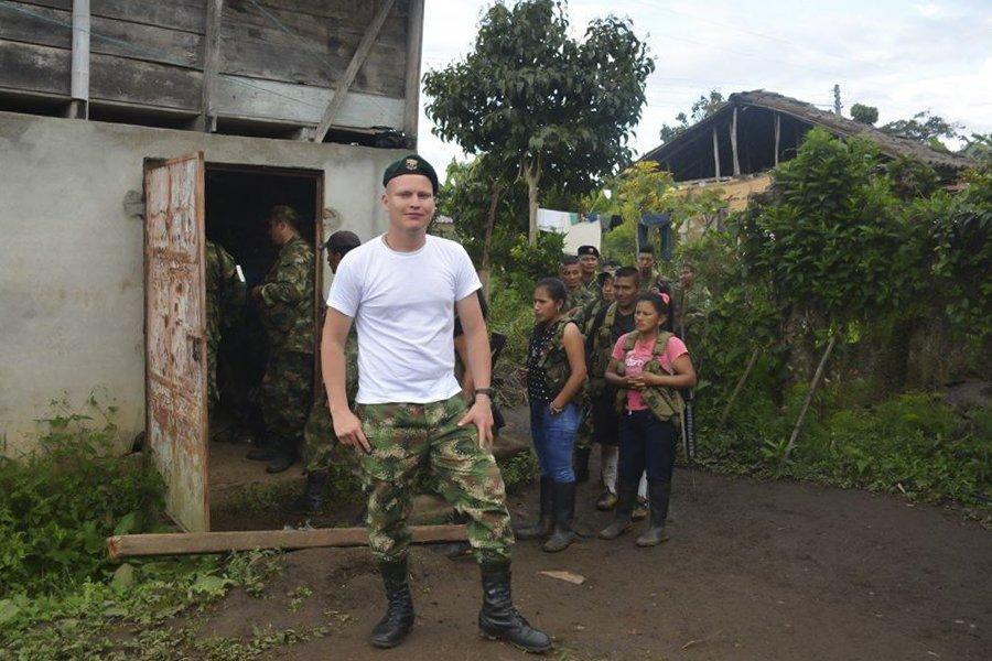 La sonrisa rebelde de las FARC - David-Marin-FARC-asesinado