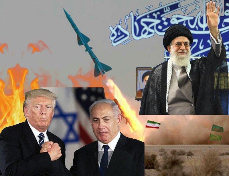 Guerra cibernética y embargo para implosionar la República Islámica de Irán - Duelo-en-el-estrecho-de-Ormuz.-Montaje-Carlos-de-Urabá.