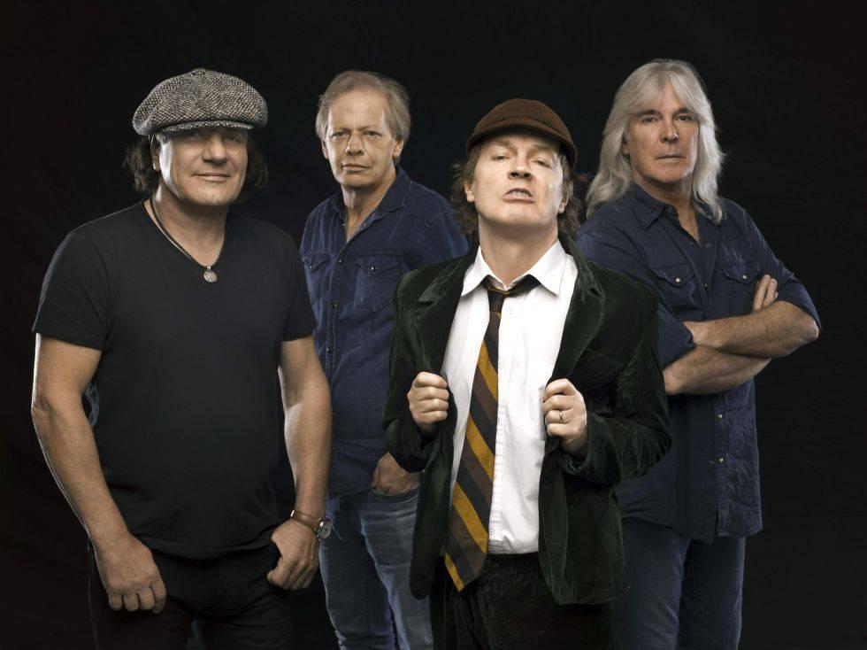 Los rumores de que AC/DC anunciará la próxima semana una gira mundial para este 2019 y el 2020. - acdc