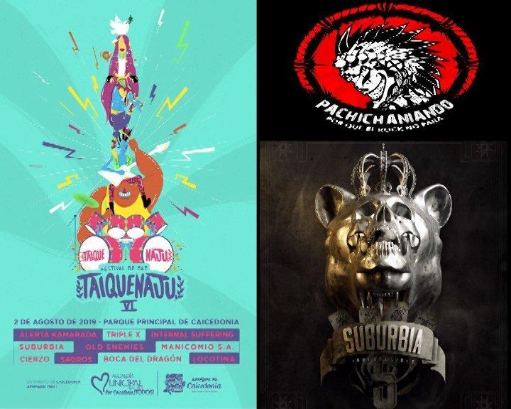 """Festivales y música en pachichanaindo """" Taquijenaju VI 2019 y Suburbia"""" - pachido-imagen-2019000"""