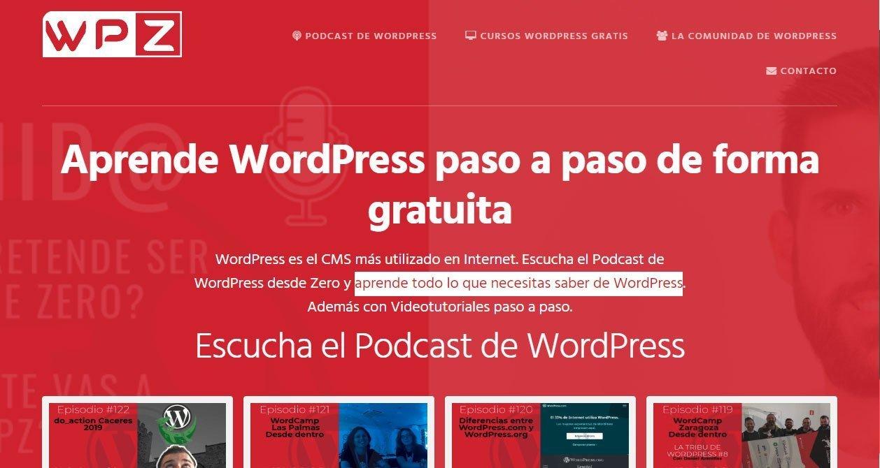 Cómo crear una página web desde cero - wordpressdesdezero