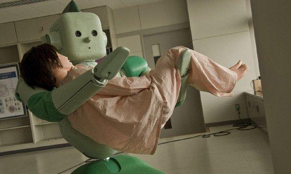 Robot asistencial RI-MAN. Foto gentileza de RIKEN.