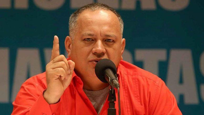 Venezuela refuta acusaciones de Duque sobre apoyo a FARC - diosdado-cabello-entrevista