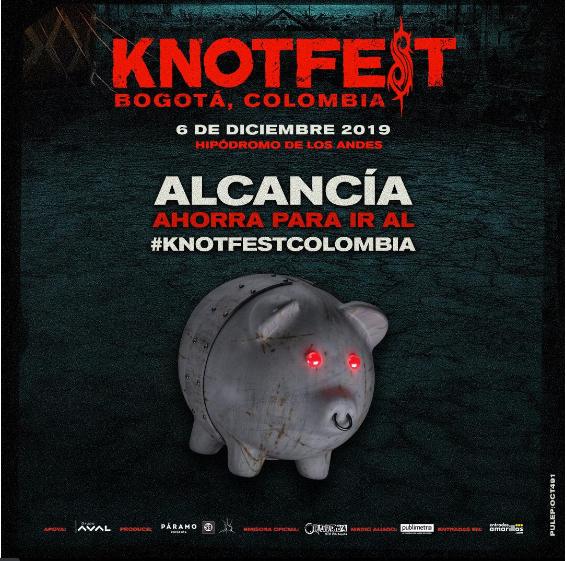 ALCANCÍAS KNOTFEST COLOMBIA - 13-sep-2