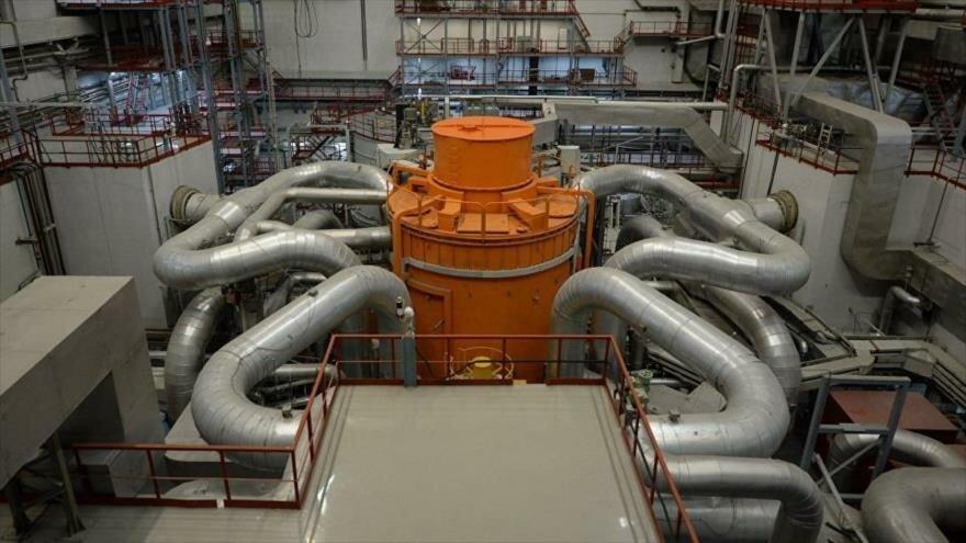 Reactor de neutrones rápidos de la Central Nuclear rusa de Beloyarsk.