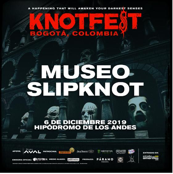 EL MUSEO DE SLIPKNOT LLEGARÁ A KNOTFEST COLOMBIA - 19-2