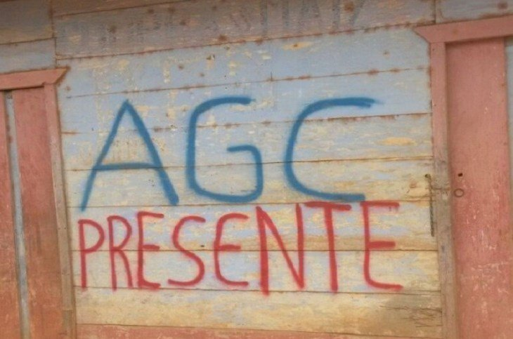 Retención y posible desaparición de indígenas embera del Cabildo Bidoquera- Ancadía por las AGC - AGC