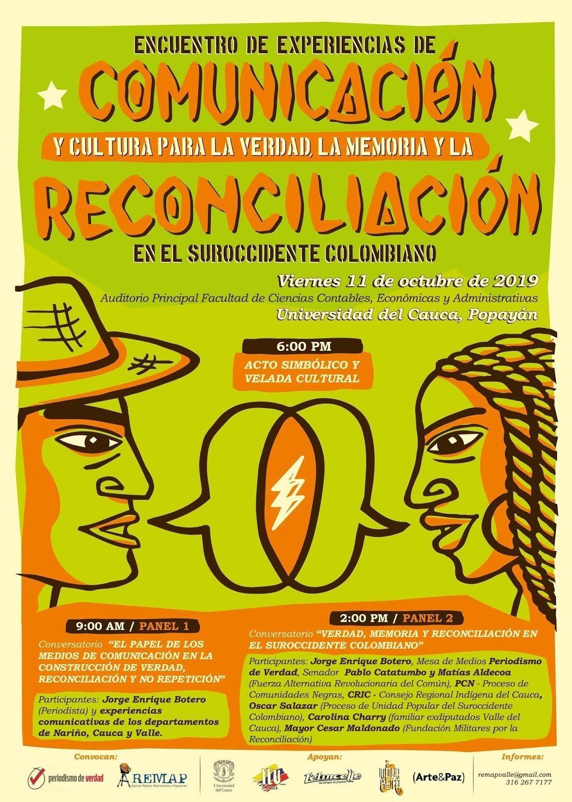 Comunicación y cultura para la verdad en Popayán - Programación-Encuentro-de-experiencias-de-comunicación-y-cultura-para-la-verdad-la-memoria-y-la-reconciliación-en-el-suroccidente-colombiano1