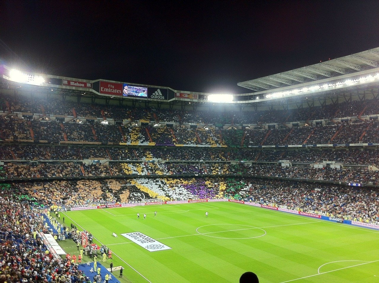 Así será la novena jornada de La Liga Santander - football-stadium-254443_1280