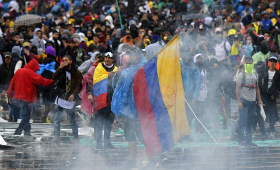 Esperando a los vándalos: contrucción de una otredad negativa en la protesta social en Colombia - 1574446775_926792_1574451219_noticia_normal