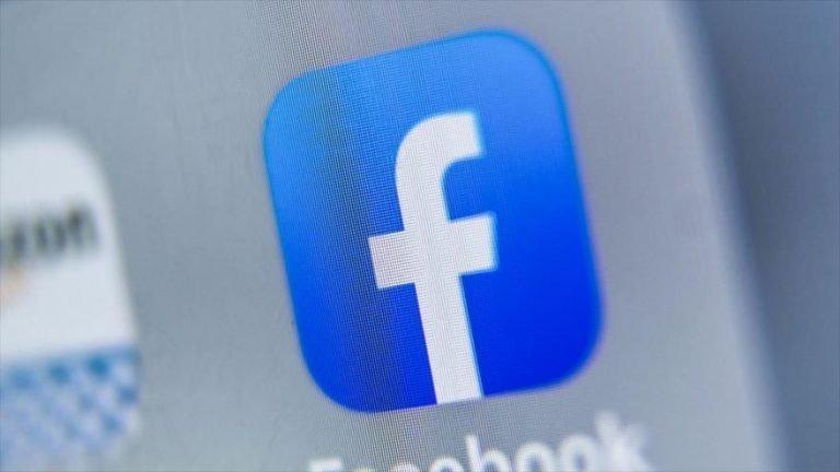 El logo de la compañía de redes sociales Facebook de EE.UU. (Foto: AFP)