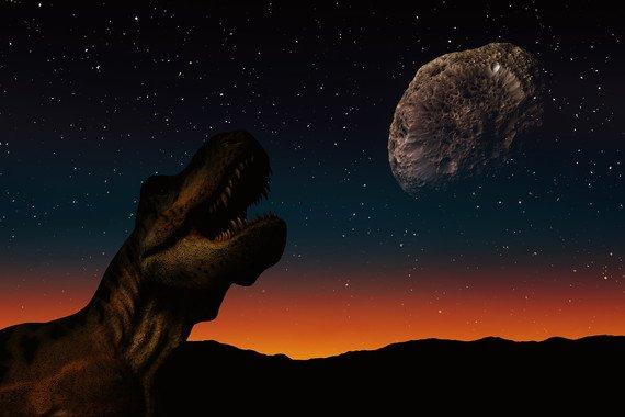 Solo el impacto de un asteroide hace 66 millones de años pudo provocar la extinción masiva de los dinosaurios. / Pixabay