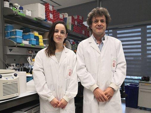 En la imagen, Alejandra Escudero-Lara y Rafael Maldonado. / UPF