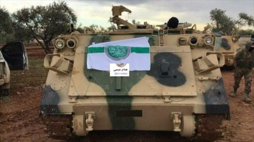 Vehículos blindados de EEUU en manos de terroristas en Siria - 07074918_xl