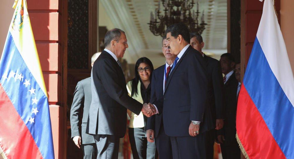 Rusia reitera su apoyo a Maduro ante presión ilegítima de EEUU - 1090403762