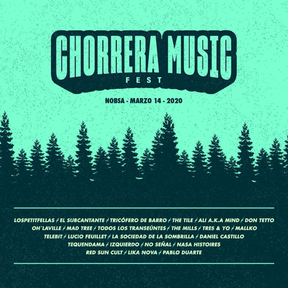 Chorrera Music Fest, un nuevo parche para la escena alternativa en Colombia - Chorrera-Music-2